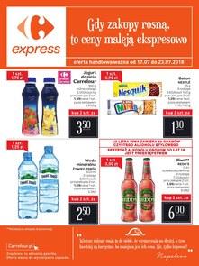 Gazetka promocyjna Carrefour Express, ważna od 17.07.2018 do 23.07.2018.