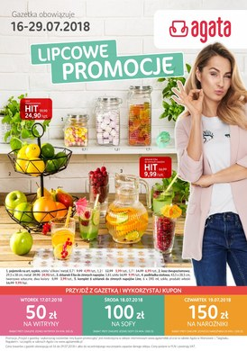 Gazetka promocyjna Agata  - Lipcowe promocje