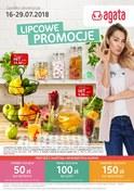 Gazetka promocyjna Agata  - Lipcowe promocje - ważna do 29-07-2018
