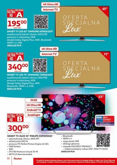 Gazetka promocyjna Auchan, ważna od 16.07.2018 do 31.07.2018.