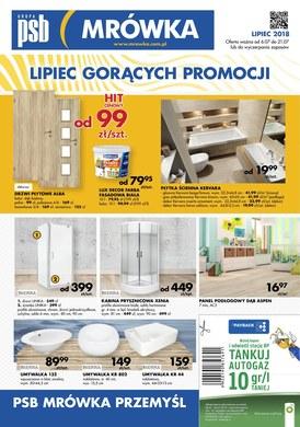 Gazetka promocyjna PSB Mrówka - Lipiec gorących promocji - Przemyśl