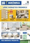 Gazetka promocyjna PSB Mrówka - Lipiec gorących promocji - Przemyśl - ważna do 21-07-2018