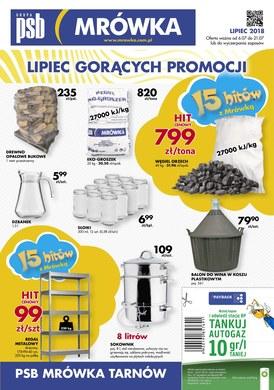 Gazetka promocyjna PSB Mrówka - Lipiec gorących promocji - Tarnów
