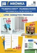 Gazetka promocyjna PSB Mrówka - Lipiec gorących promocji - Kwidzyn - ważna do 29-07-2018