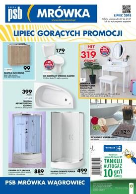 Gazetka promocyjna PSB Mrówka - Lipiec gorących promocji - Wągrowiec