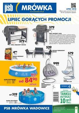 Gazetka promocyjna PSB Mrówka - Lipiec gorących promocji - Wadowice