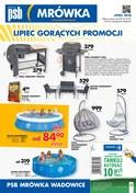 Gazetka promocyjna PSB Mrówka - Lipiec gorących promocji - Wadowice - ważna do 21-07-2018