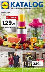 Gazetka promocyjna Lidl, ważna od 23.07.2018 do 29.07.2018.