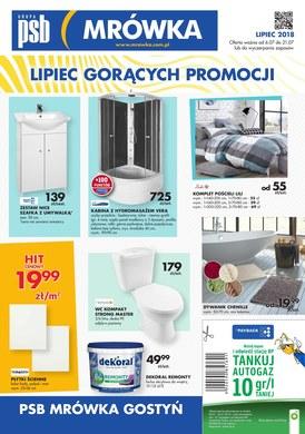 Gazetka promocyjna PSB Mrówka - Lipiec gorących promocji - Gostyń