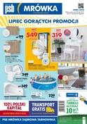 Gazetka promocyjna PSB Mrówka - Lipiec gorących promocji - Dąbrowa Tarnowska - ważna do 21-07-2018