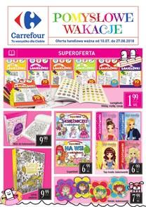 Gazetka promocyjna Carrefour, ważna od 10.07.2018 do 27.08.2018.