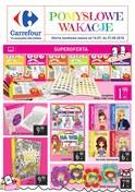 Gazetka promocyjna Carrefour - Pomysłowe wakacje - ważna do 27-08-2018