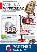 Gazetka promocyjna Partner AGD RTV  - Wielka wyprzedaż