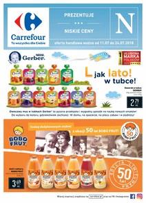 Gazetka promocyjna Carrefour, ważna od 11.07.2018 do 24.07.2018.