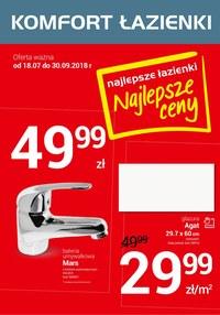 Gazetka Promocyjna Komfort łazienki Promocyjnipl Oferta