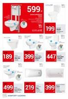 Gazetka promocyjna Komfort Łazienki - Najlepsze łazienki, najlepsze ceny