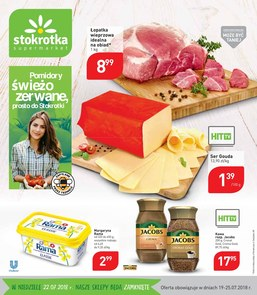 Gazetka promocyjna Stokrotka, ważna od 19.07.2018 do 25.07.2018.