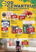 Gazetka promocyjna Lidl - Lato pełne promocji - ważna do 21-07-2018