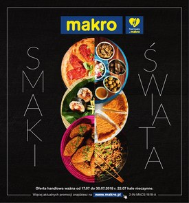Gazetka promocyjna Makro Cash&Carry, ważna od 17.07.2018 do 30.07.2018.