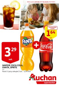 Gazetka promocyjna Auchan, ważna od 18.07.2018 do 24.07.2018.