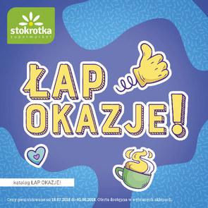 Gazetka promocyjna Stokrotka, ważna od 19.07.2018 do 01.08.2018.
