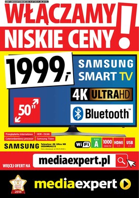 Gazetka promocyjna Media Expert - Włączamy niskie ceny! - ważna od 19-07-2018