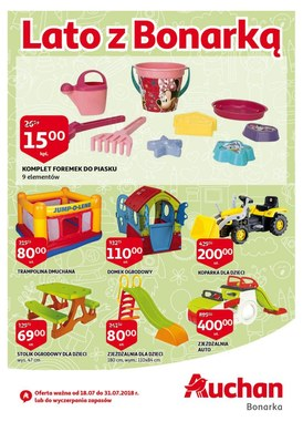 Gazetka promocyjna Auchan - Lato z Bonarką