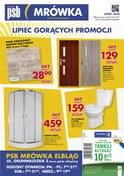 Gazetka promocyjna PSB Mrówka - Lipiec gorących promocji - Elbląg - ważna do 21-07-2018