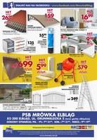 Gazetka promocyjna PSB Mrówka - Lipiec gorących promocji - Elbląg