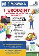 Gazetka promocyjna PSB Mrówka - 1 urodziny mrówki - Bochnia