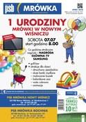 Gazetka promocyjna PSB Mrówka - 1 urodziny mrówki - Bochnia - ważna do 21-07-2018