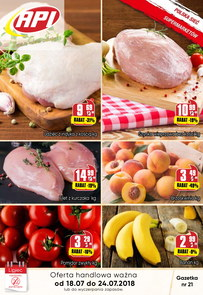 Gazetka promocyjna Api Market, ważna od 18.07.2018 do 24.07.2018.