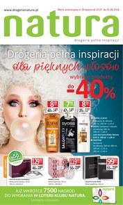 Gazetka promocyjna Drogerie Natura, ważna od 19.07.2018 do 01.08.2018.