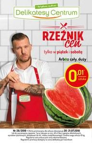 Gazetka promocyjna Delikatesy Centrum, ważna od 19.07.2018 do 25.07.2018.