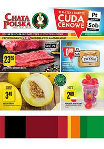 Gazetka promocyjna Chata Polska, ważna od 19.07.2018 do 25.07.2018.