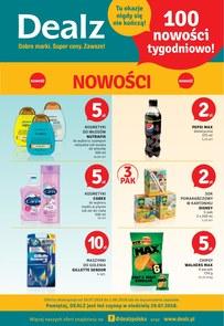 Gazetka promocyjna Dealz, ważna od 19.07.2018 do 01.08.2018.