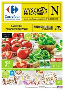 Gazetka promocyjna Carrefour, ważna od 24.07.2018 do 05.08.2018.
