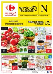 Gazetka promocyjna Carrefour Market, ważna od 24.07.2018 do 05.08.2018.