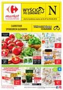 Gazetka promocyjna Carrefour Market - Wyścig po zdrowie - ważna do 05-08-2018