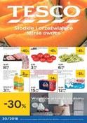 Gazetka promocyjna Tesco Hipermarket - Słodkie i orzeźwiające letnie owoce  - ważna do 01-08-2018