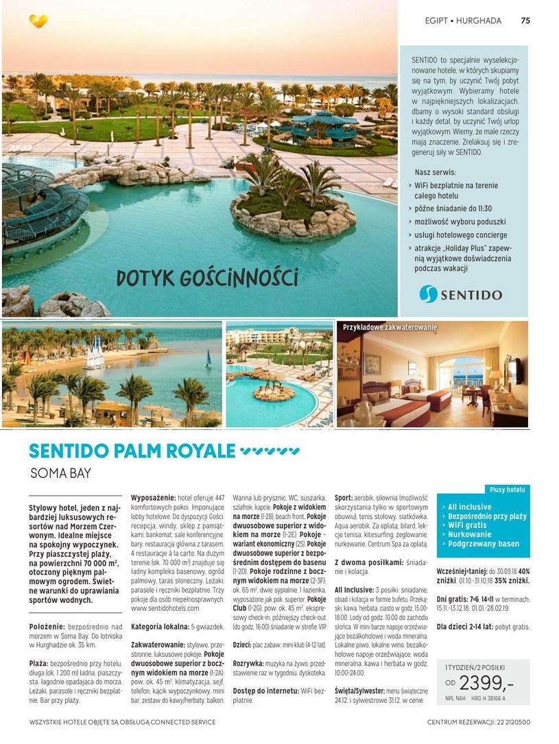 Gazetka: Słońce & Plaża - strona 76