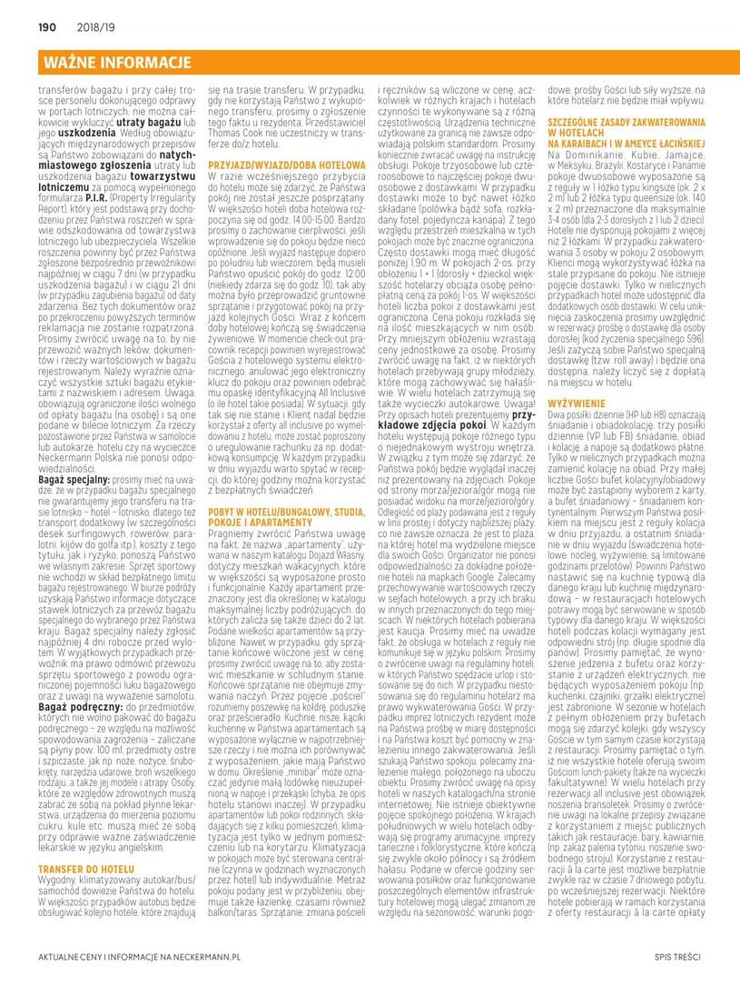 Gazetka: Słońce & Plaża - strona 191
