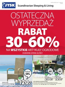 Gazetka promocyjna Jysk, ważna od 26.07.2018 do 08.08.2018.