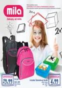 Gazetka promocyjna MILA - Powrót do szkoły - ważna do 13-08-2018