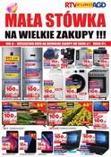 Gazetka promocyjna RTV EURO AGD - Mała stówka na wielkie zakupy !!! - ważna do 30-08-2018