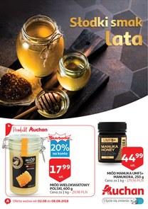 Gazetka promocyjna Auchan, ważna od 02.08.2018 do 08.08.2018.