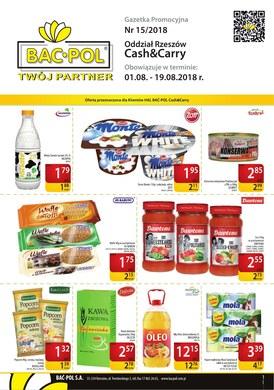 Gazetka promocyjna Bać-Pol S.A. - Gazetka promocyjna - Rzeszów Cash&Carry
