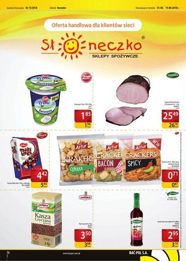 Gazetka promocyjna Bać-Pol S.A., ważna od 01.08.2018 do 19.08.2018.