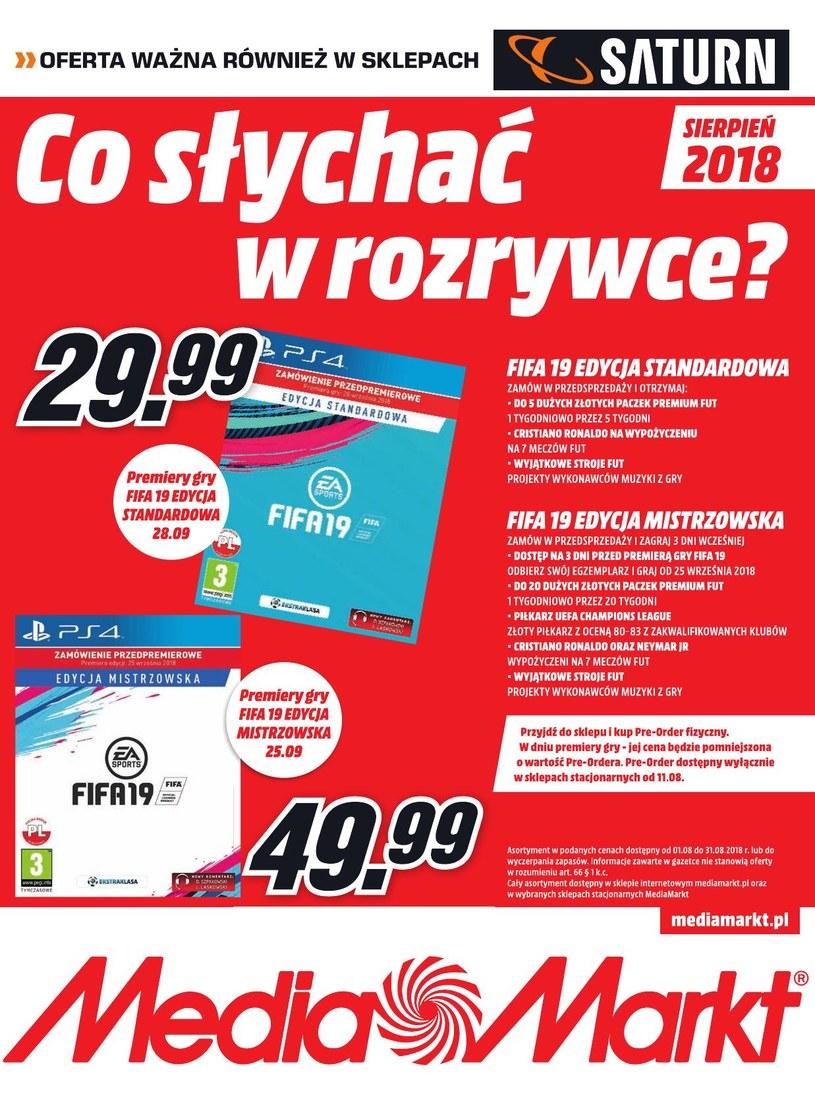 Media Markt: 1 gazetka