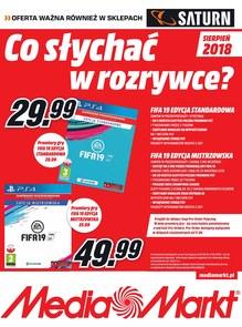 Gazetka promocyjna Media Markt, ważna od 01.08.2018 do 31.08.2018.